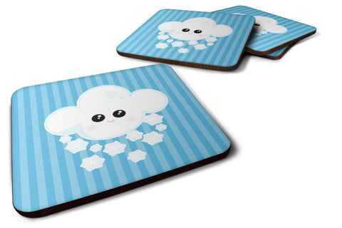 Buy this Weather Snowing Face Foam Coaster Set of 4 BB7158FC