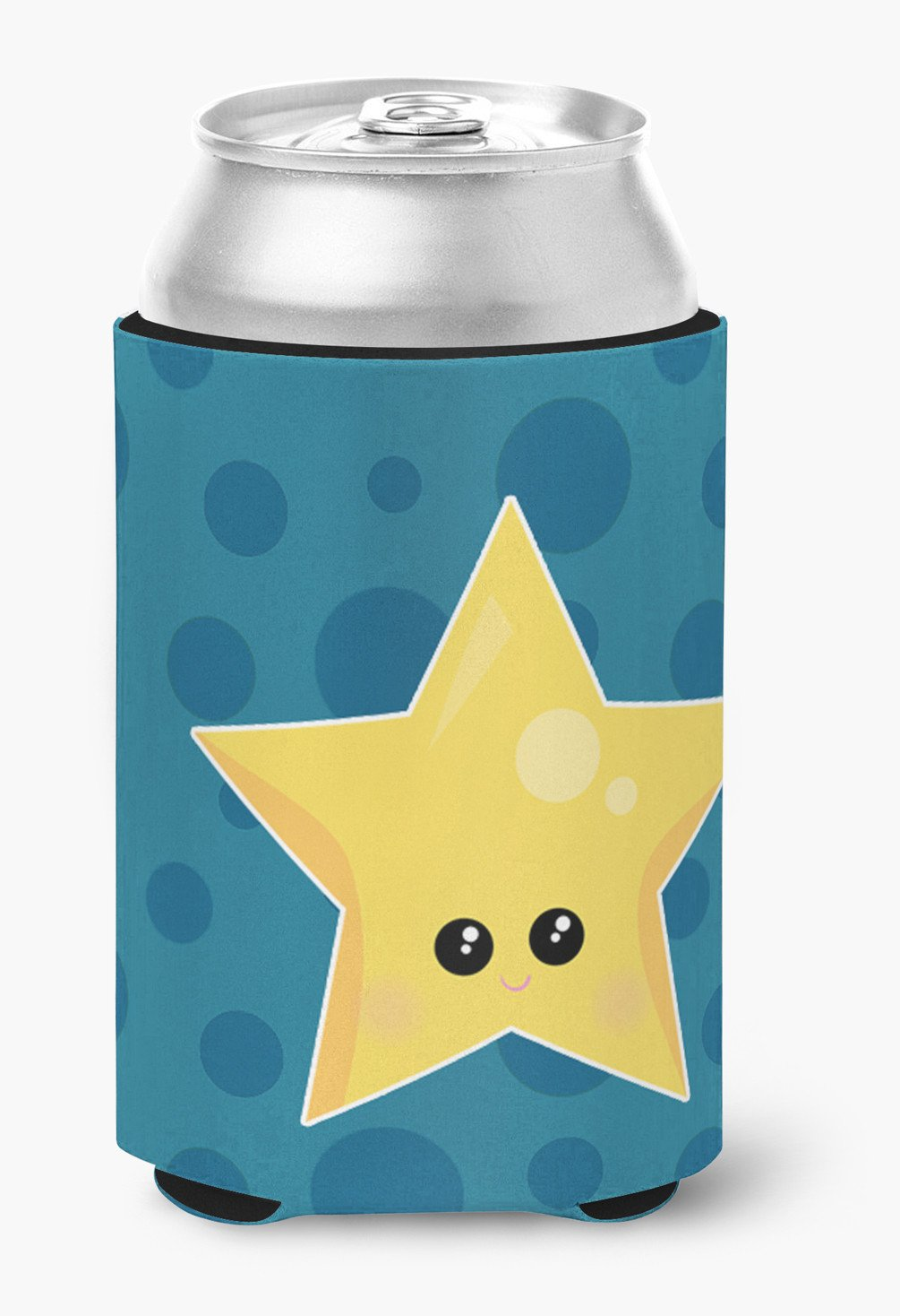 Weather Night Star Face Can or Bottle Hugger BB7159CC by Caroline's Treasures