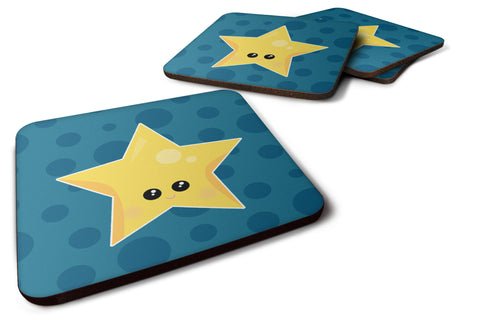 Buy this Weather Night Star Face Foam Coaster Set of 4 BB7159FC