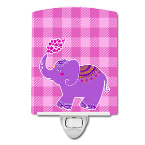 Buy this Purple Elephant Ceramic Night Light BB7161CNL