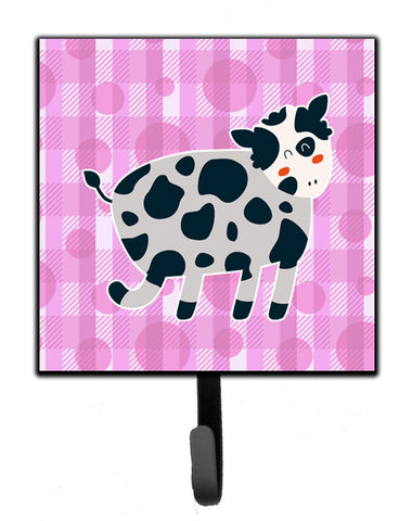 Buy this Cow on Pink Polkadots Leash or Key Holder BB7162SH4