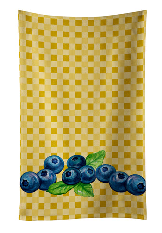 Buy this Blueberries on Basketweave Kitchen Towel BB7167KTWL