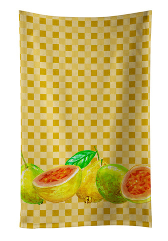 Buy this Guavas on Basketweave Kitchen Towel BB7172KTWL