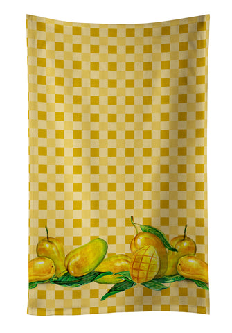 Buy this Mangos on Basketweave Kitchen Towel BB7174KTWL