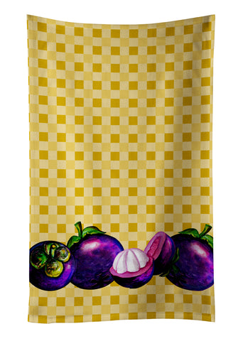 Buy this Mangosteens on Basketweave Kitchen Towel BB7175KTWL