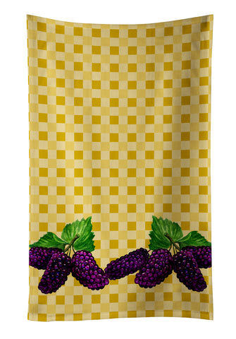 Buy this Mulberries on Basketweave Kitchen Towel BB7176KTWL