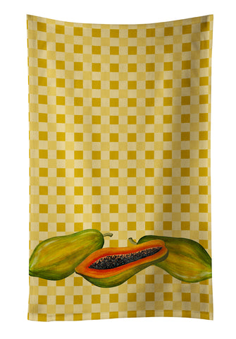 Buy this Papayas on Basketweave Kitchen Towel BB7178KTWL