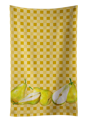 Buy this Pears on Basketweave Kitchen Towel BB7179KTWL