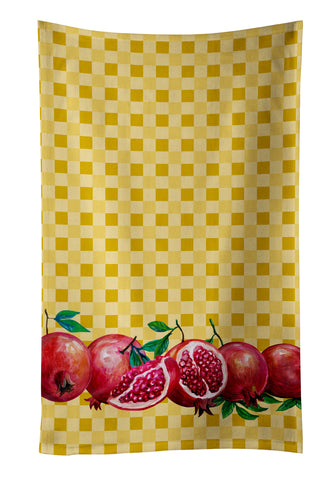 Buy this Pomegranates on Basketweave Kitchen Towel BB7181KTWL