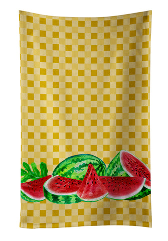 Buy this Watermelon on Basketweave Kitchen Towel BB7183KTWL