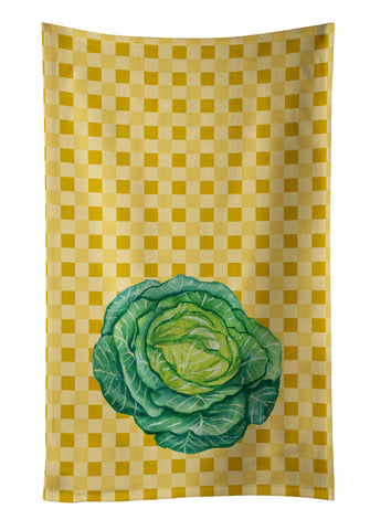 Buy this Cabbage on Basketweave Kitchen Towel BB7187KTWL