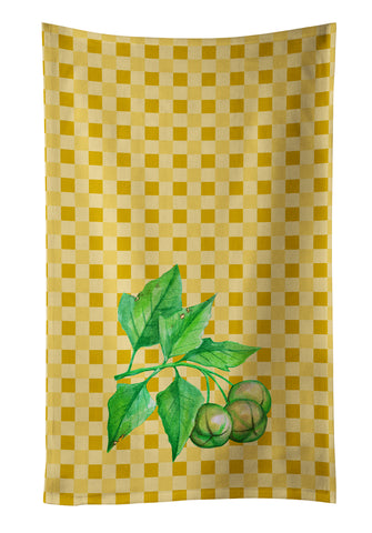 Buy this Candlenut on Basketweave Kitchen Towel BB7188KTWL
