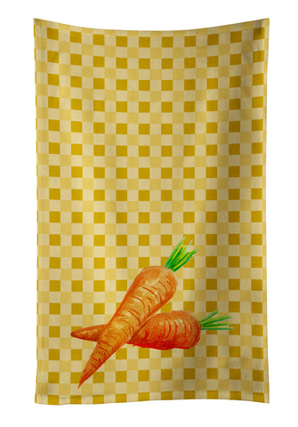 Buy this Carrots on Basketweave Kitchen Towel BB7189KTWL