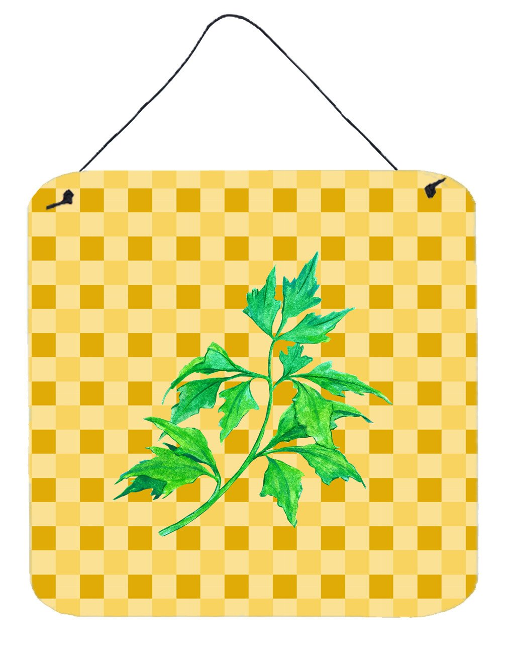 Celery on Basketweave Wall or Door Hanging Prints BB7192DS66 by Caroline's Treasures