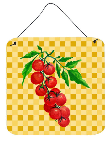 Buy this Cherry Tomato on Basketweave Wall or Door Hanging Prints BB7194DS66