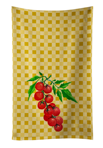 Buy this Cherry Tomato on Basketweave Kitchen Towel BB7194KTWL