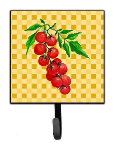 Buy this Cherry Tomato on Basketweave Leash or Key Holder BB7194SH4