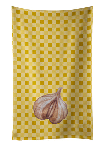 Buy this Garlic on Basketweave Kitchen Towel BB7202KTWL