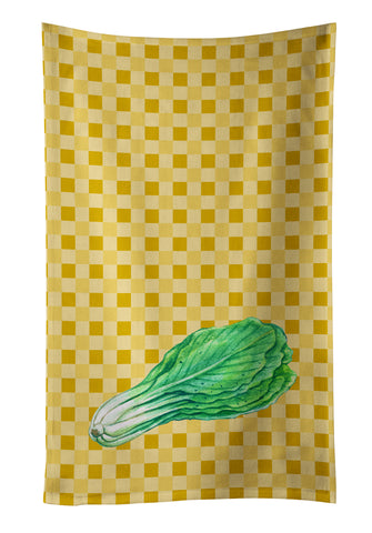 Buy this Mustard on Basketweave Kitchen Towel BB7204KTWL