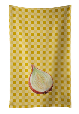 Buy this Onion on Basketweave Kitchen Towel BB7205KTWL