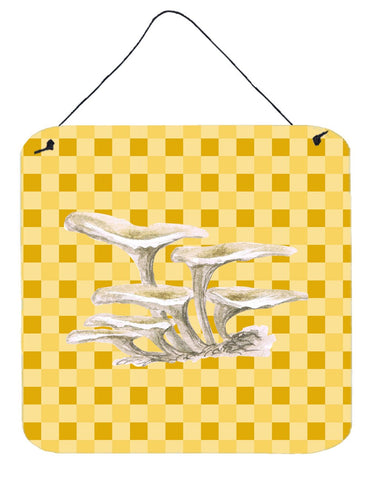 Buy this Oyster Mushrooms on Basketweave Wall or Door Hanging Prints BB7206DS66