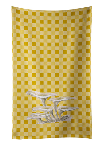 Buy this Oyster Mushrooms on Basketweave Kitchen Towel BB7206KTWL