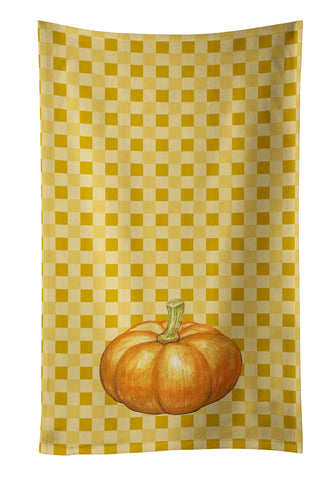 Buy this Pumpkin on Basketweave Kitchen Towel BB7209KTWL