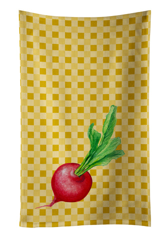 Buy this Radish on Basketweave Kitchen Towel BB7210KTWL