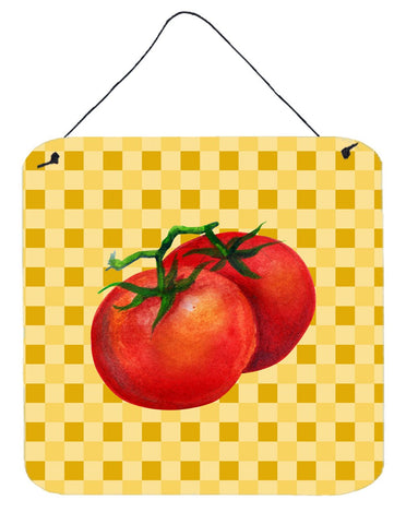 Buy this Tomato on Basketweave Wall or Door Hanging Prints BB7215DS66