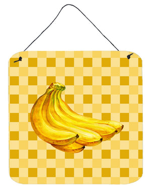 Buy this Banana Bunch on Basketweave Wall or Door Hanging Prints BB7222DS66