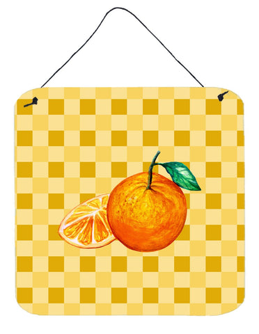 Buy this Oranges and Slice on Basketweave Wall or Door Hanging Prints BB7239DS66