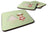 Cake Baker Brunette Green Foam Coaster Set of 4 BB7256FC by Caroline's Treasures