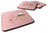 Buy this Cupcake Baker African American Pink Foam Coaster Set of 4 BB7257FC