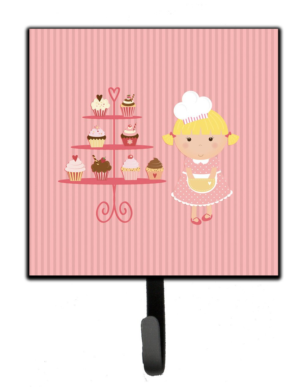 Buy this Cupcake Baker Blonde Pink Leash or Key Holder BB7260SH4