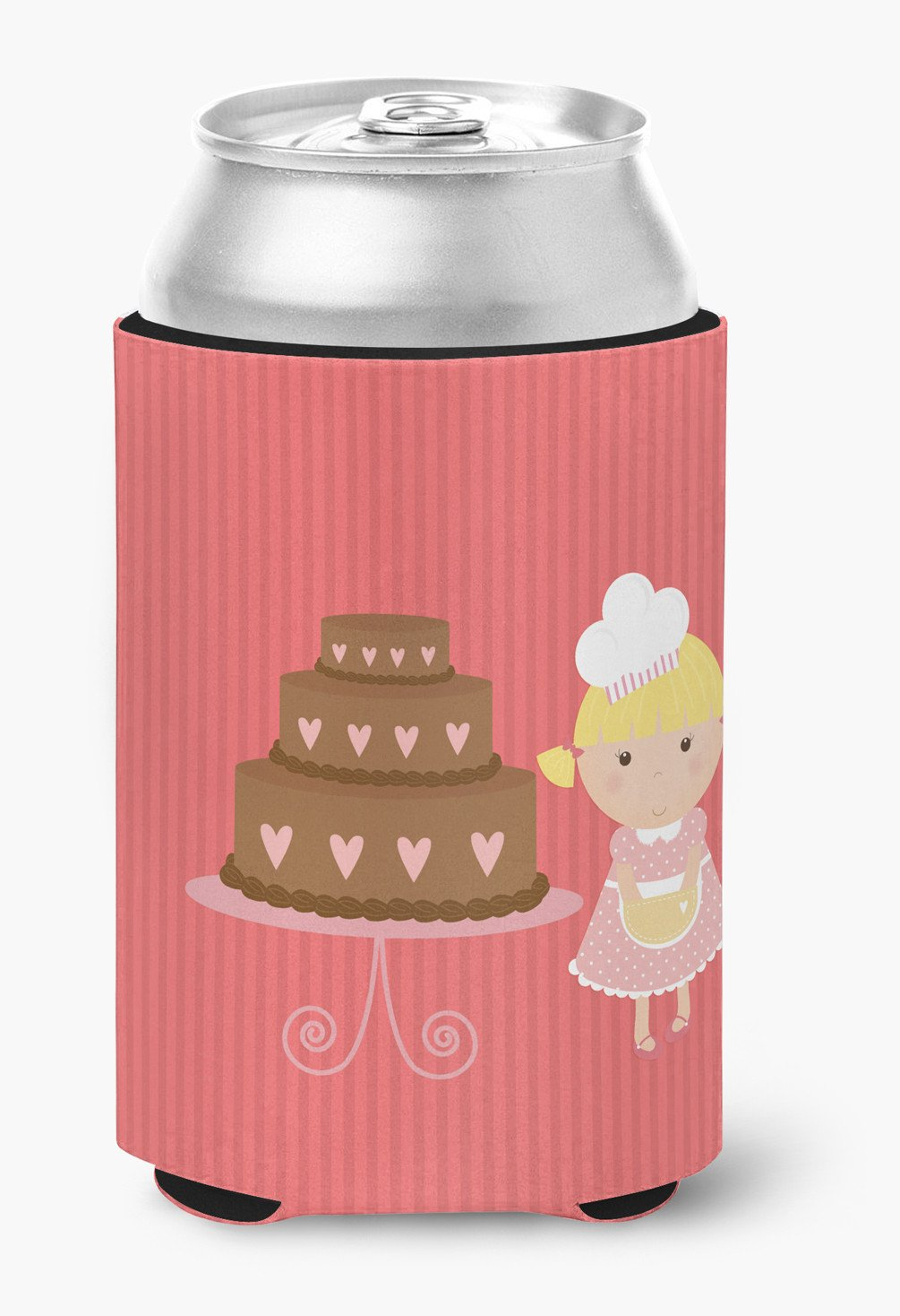 Buy this Valentine's Cake Baker Blonde Can or Bottle Hugger BB7265CC
