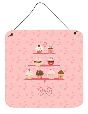Buy this Cupcakes 3 Tier Pink Wall or Door Hanging Prints BB7274DS66