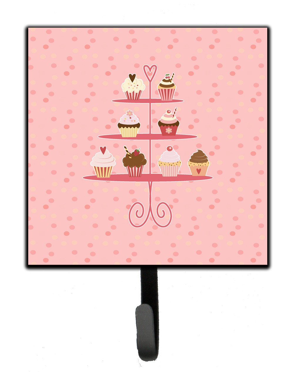 Buy this Cupcakes 3 Tier Pink Leash or Key Holder BB7274SH4