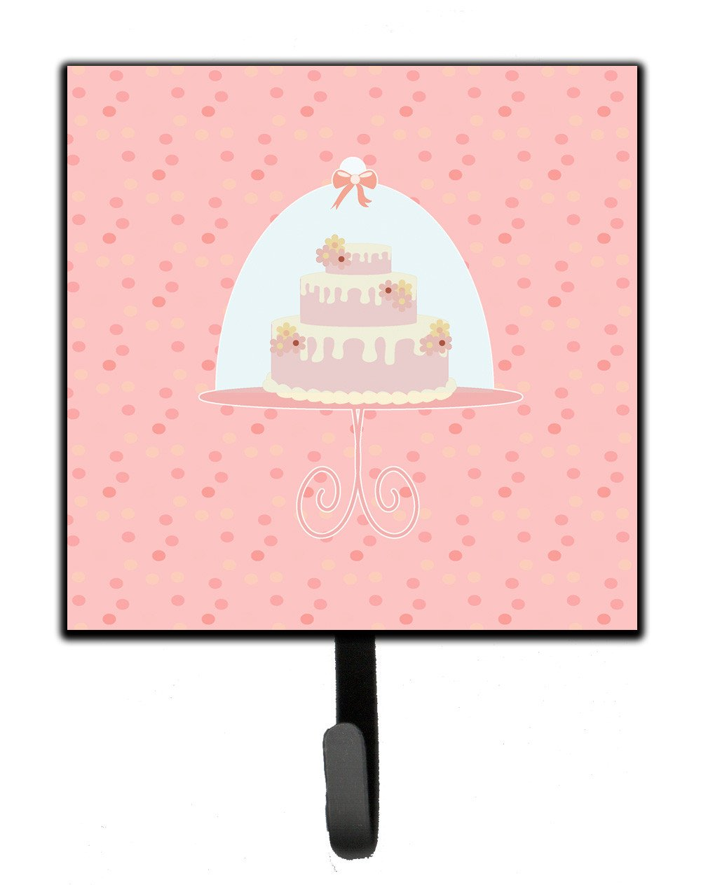 Decorative Cake 3 Tier Pink Leash or Key Holder BB7276SH4 by Caroline's Treasures