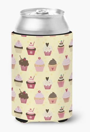 Buy this Cupcakes on Yellow Can or Bottle Hugger BB7295CC