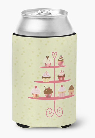Buy this Cupcakes 3 Tier Stand on Green Can or Bottle Hugger BB7304CC