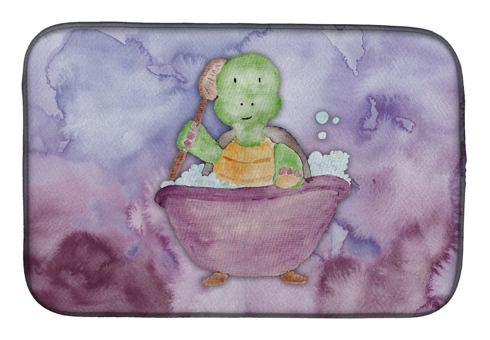 Buy this Turtle Bathing Watercolor Dish Drying Mat BB7344DDM