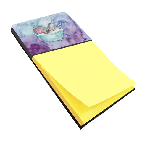 Buy this Elephant Bathing Watercolor Sticky Note Holder BB7346SN