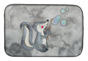 Buy this Skunk and Bubbles Watercolor Dish Drying Mat BB7352DDM