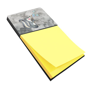 Buy this Skunk and Bubbles Watercolor Sticky Note Holder BB7352SN