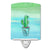 Buy this Cactus Teal and Green Watercolor Ceramic Night Light BB7362CNL