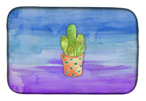 Buy this Cactus Blue and Purple Watercolor Dish Drying Mat BB7363DDM