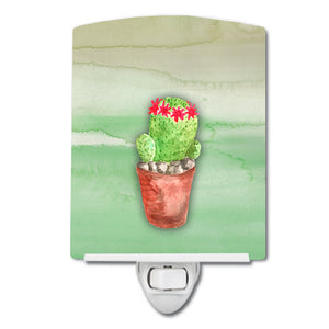 Buy this Cactus Green Watercolor Ceramic Night Light BB7364CNL