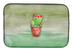 Buy this Cactus Green Watercolor Dish Drying Mat BB7364DDM