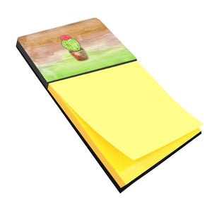Buy this Cactus Green and Brown Watercolor Sticky Note Holder BB7365SN