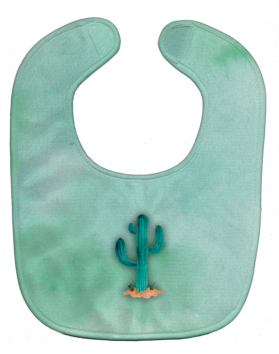 Buy this Western Cactus Watercolor Baby Bib BB7369BIB